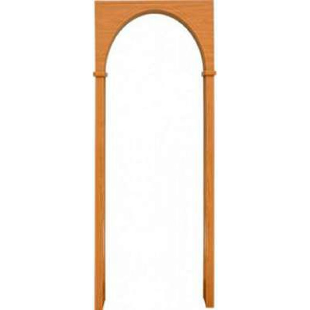 Межкомнатная арка, цвет миланский орех