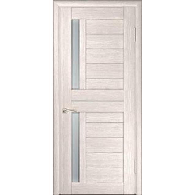 Дверь U-4 (Беленый дуб) с гориз. молдингом