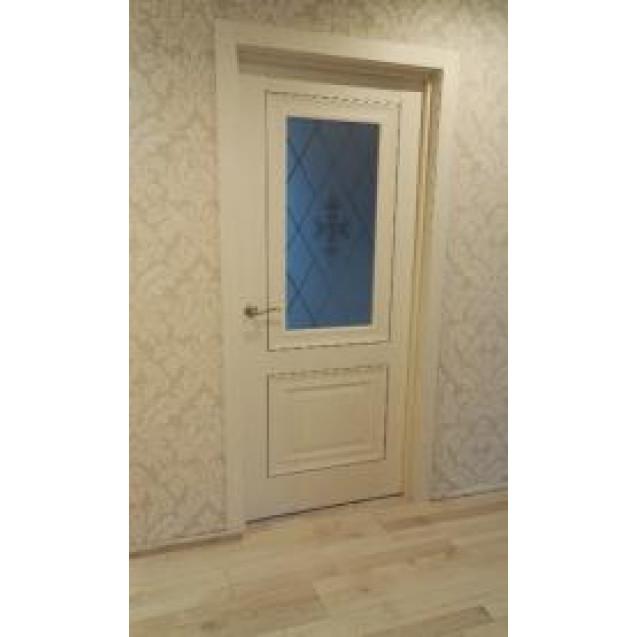Дверь Вернисаж Дуб айвори (О)