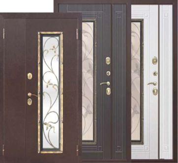 Преимущества двустворчатых входных дверей